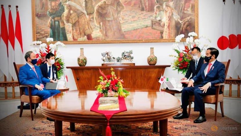 Japan, Indonesia seek stronger security, economic ties in China's shadow