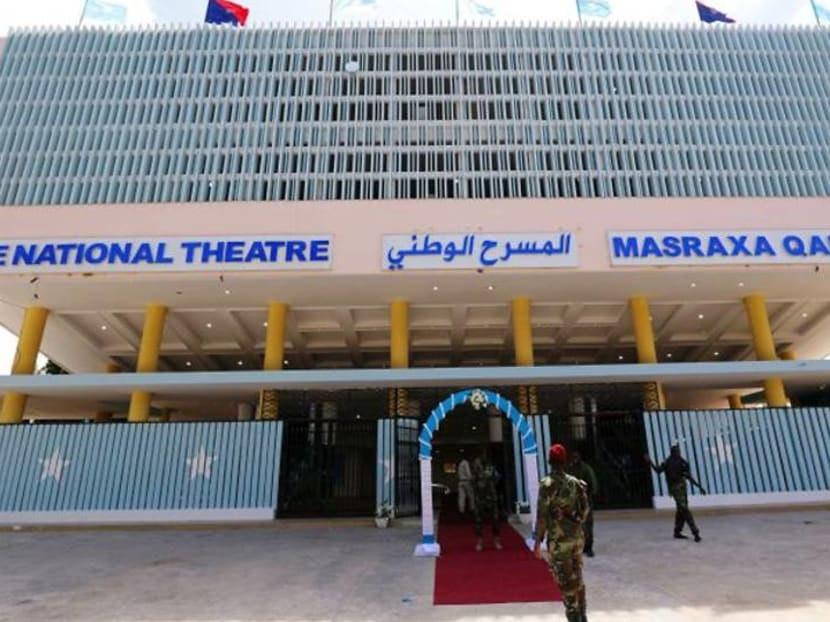 Eight years after bombing, Somalia reopens national theatre