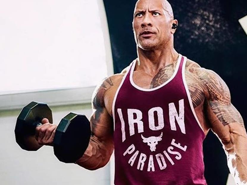 Dwayne 'The Rock' Johnson ripped off front gate when it wouldn't open