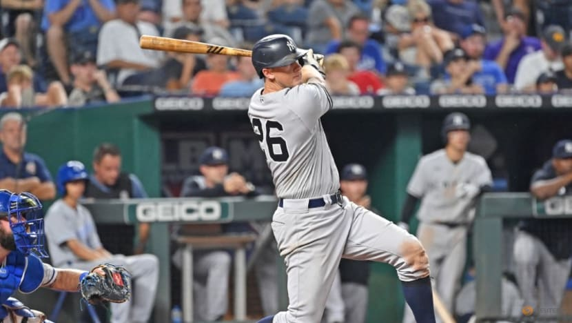 MLB roundup: Yankees finally close out Royals in 11 innings