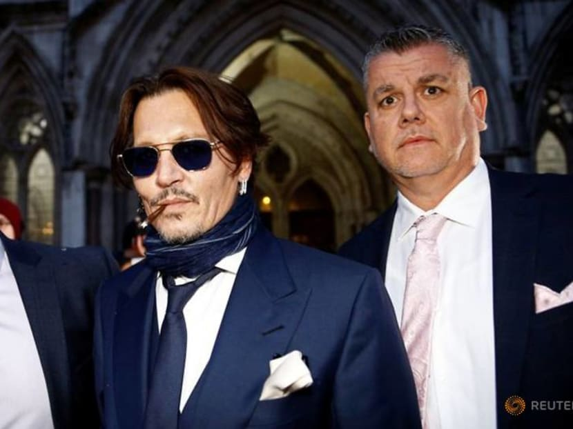 Actor Johnny Depp appears in UK court, rejects ex-wife's abuse claims