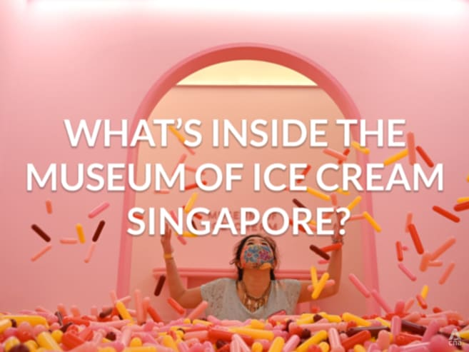 Check out the Museum of Ice Cream Singapore | CNA Lifestyle