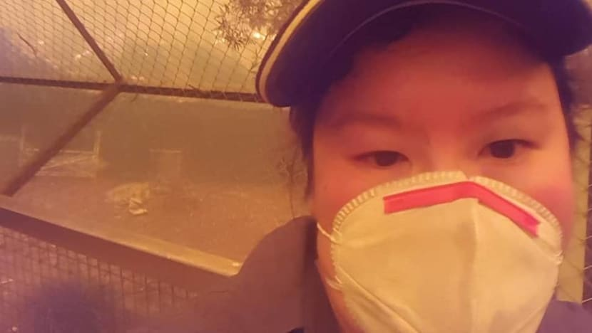 'The most terrifying day of my life': Singaporean zookeeper at centre of dramatic animal rescue during Australia bushfires