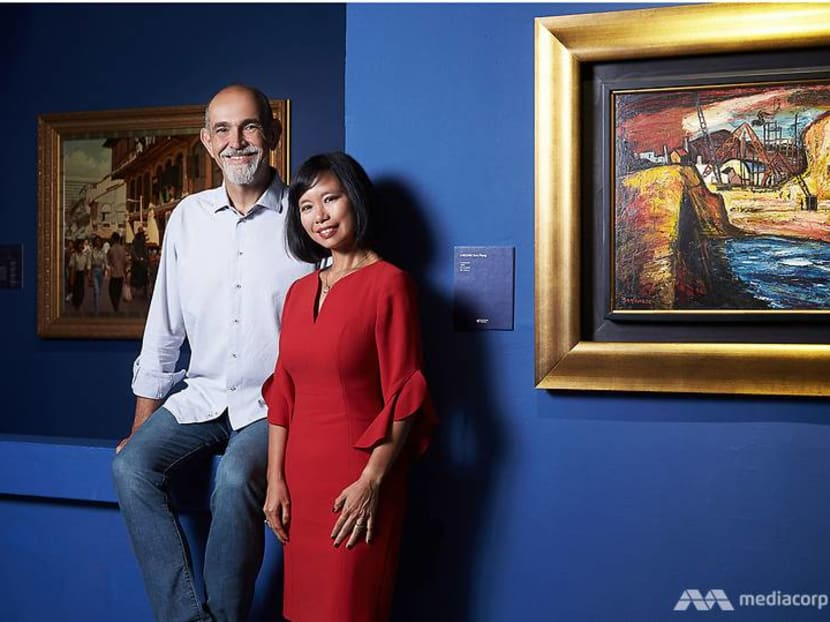 Old Chinatown and satay men: Why this couple collects nostalgic Singapore art