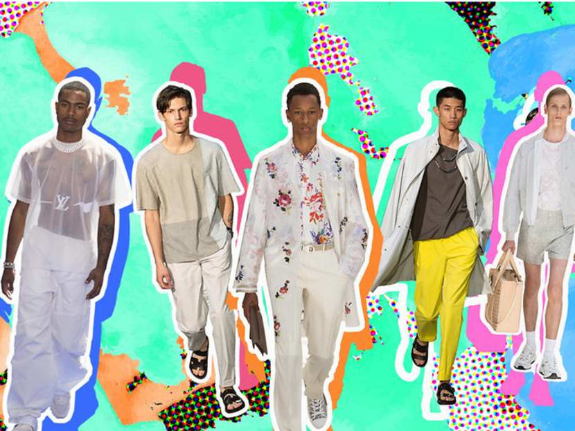 Loosen up and go soft: Menswear heads in a decidedly slinky direction