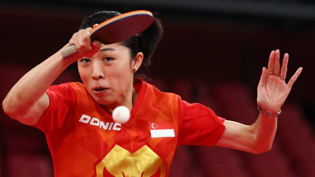 奥运乒乓赛于梦雨旗开得胜 周哲宇止步第二圈
