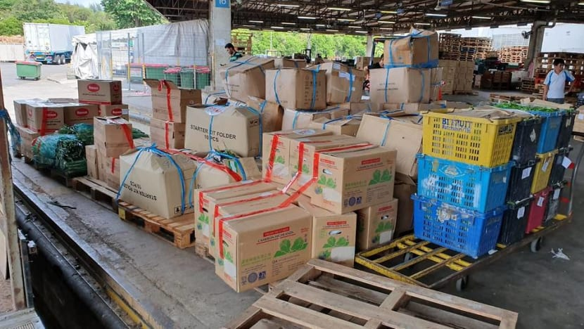 Firm fined for illegally importing more than 2.5 tonnes of fresh vegetables from Malaysia