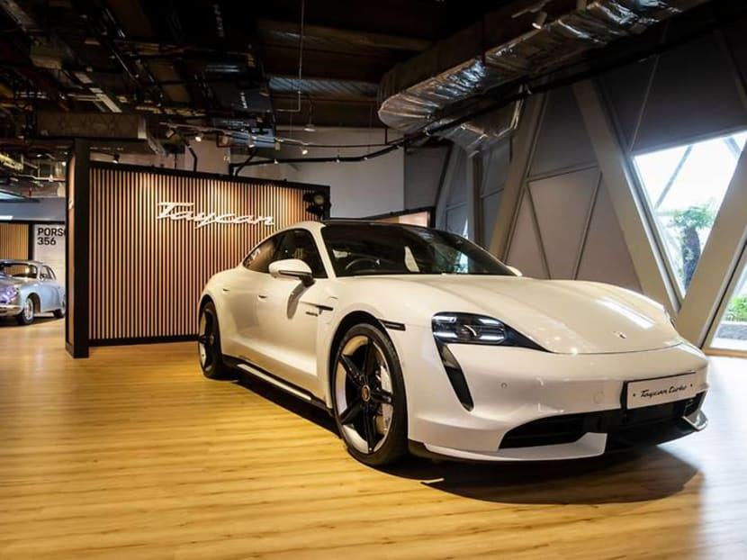 Heading to Jewel? Go on a virtual test drive at Porsche's new exhibition
