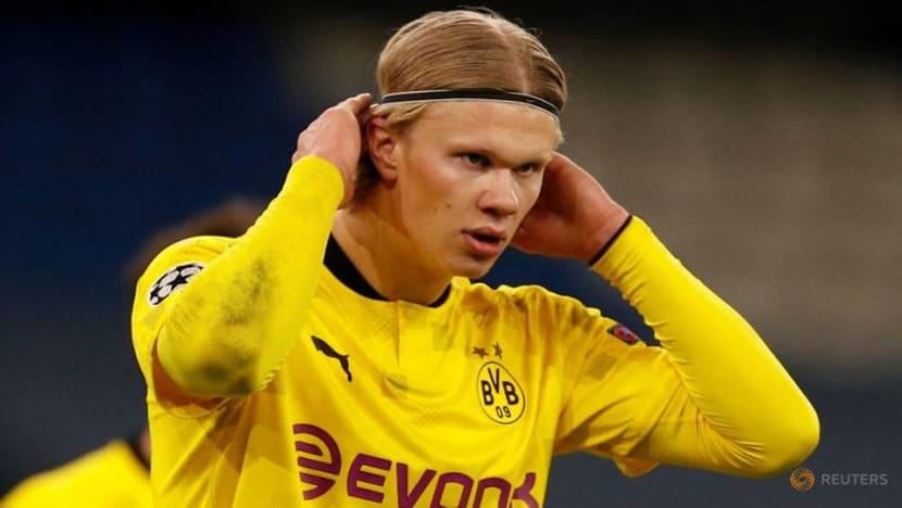 Football: Dortmund striker Haaland a doubt for German Cup final