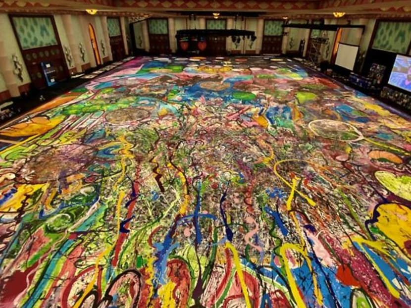 Gone in 60 sections? UK artist hopes to raise millions with giant canvas