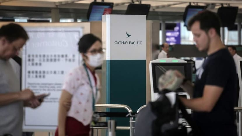 Cathay Pacific suspends pilot, fires 2 ground employees over Hong Kong protests