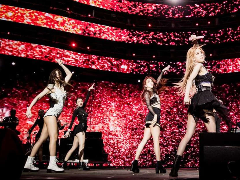 K-pop girl group BLACKPINK wows the crowd at Coachella Fest