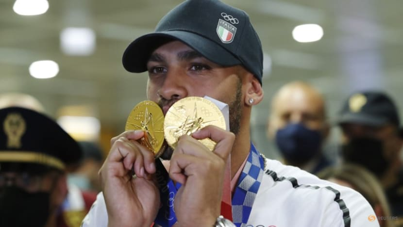 Athletics-Double Olympic champion Jacobs shrugs off doping suspicions