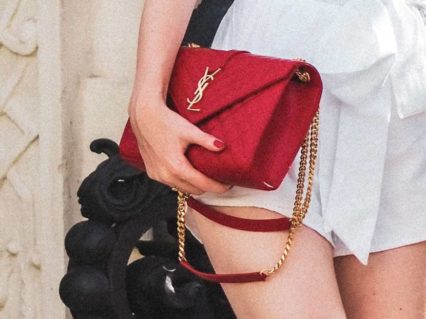 Why were consumers in Asia buying luxury handbags during the lockdown?