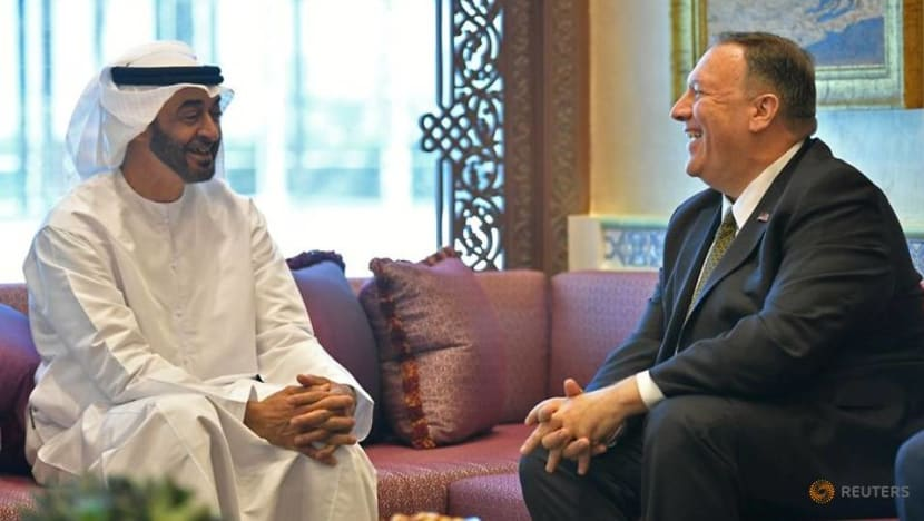 Commentary: UAE-Israel deal has less to do with Iran but more with the US and China
