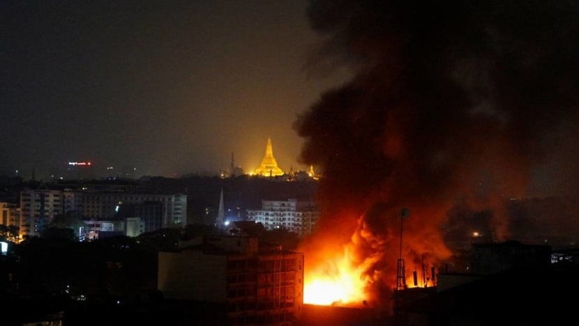 UK sanctions Myanmar conglomerate, says junta sinking to new lows with killings