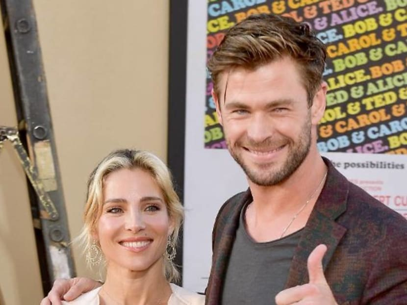 Chris Hemsworth's wife, Elsa Pataky, says they are not the 'perfect couple'