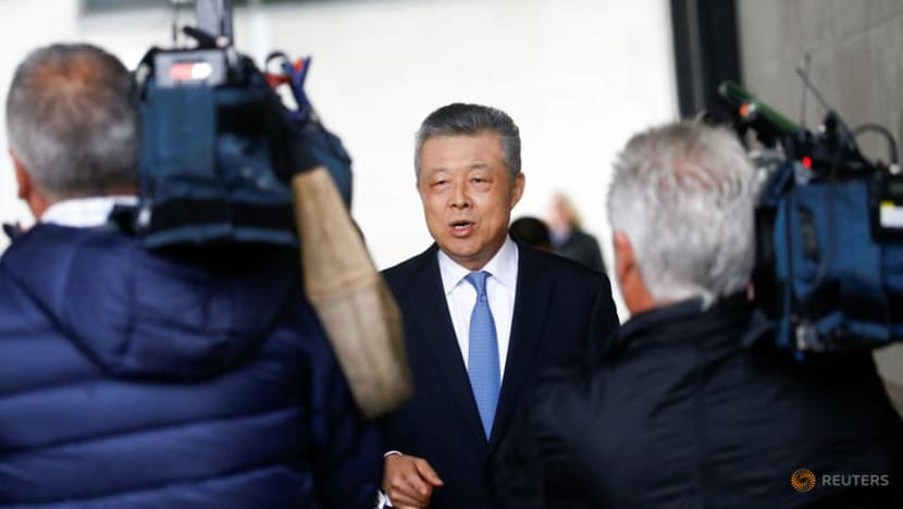 China warns foreign forces to 'stop conniving and interfering' in Hong Kong affairs