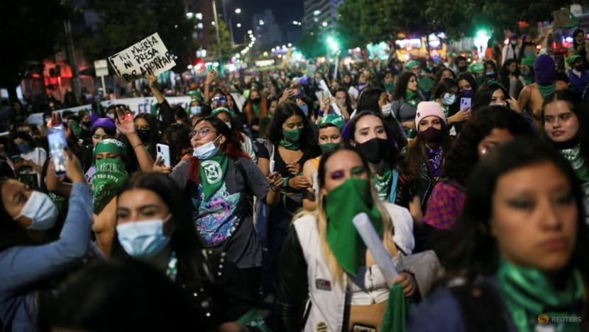 Women across Latin America march in favor of abortion rights