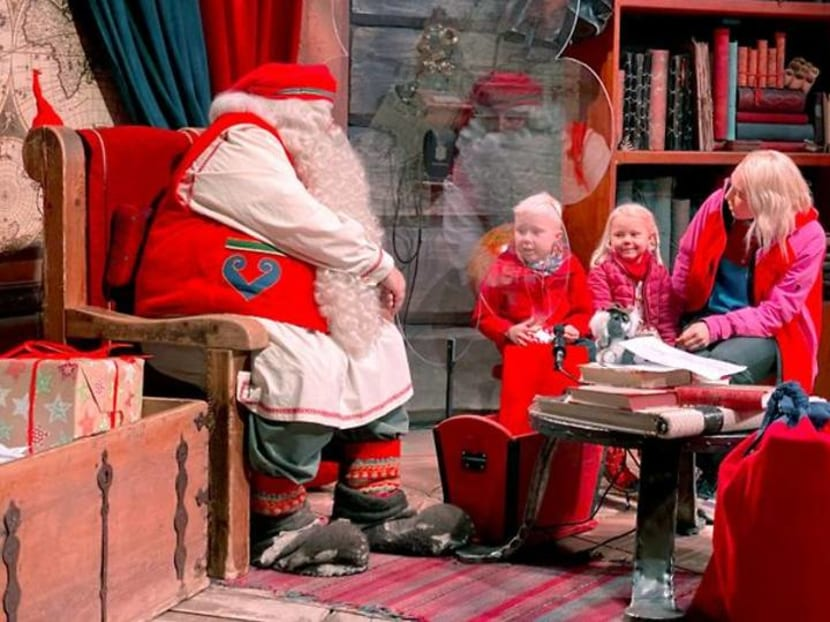 Santa is going to feel very lonely in Lapland this Christmas