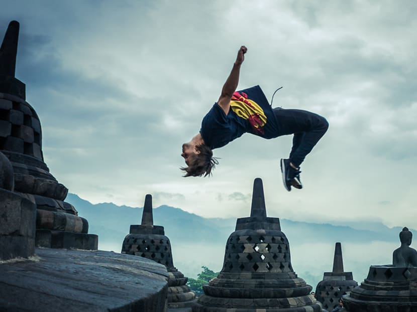 Commentary: Parkour, a sport that seems reckless but takes skill and poise