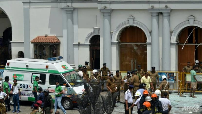 Sri Lanka blasts: Prime minister condemns 'cowardly' attacks, Pope stands with victims