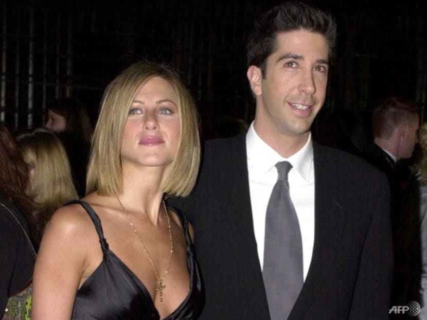 The one where Friends stars Jennifer Aniston and David Schwimmer deny they're dating