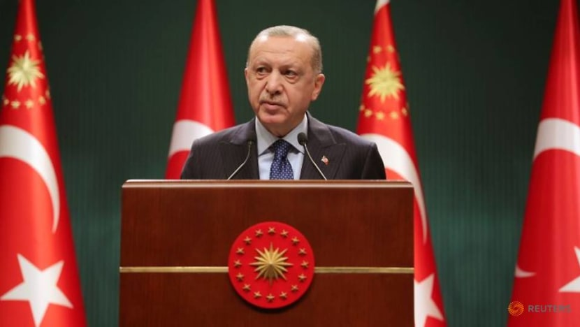With poll support dropping, Erdogan's party looks to change Turkish relection law: Officials