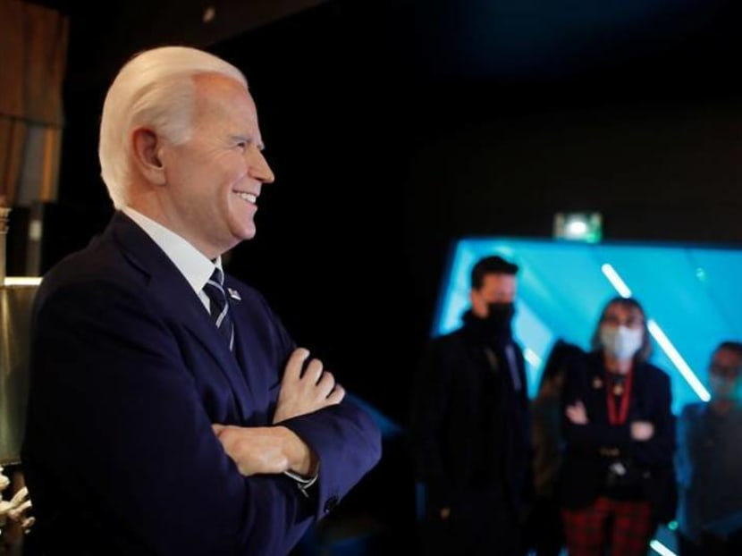 Biden smiling, Trump removed: Paris wax museum reopens to new political reality