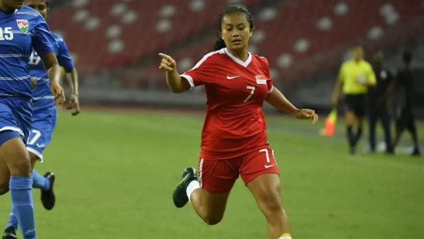 Singapore women's national football team player gets overseas athletic scholarship