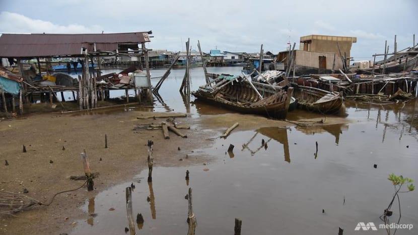 'Everything dies': Mining, climate change threaten livelihoods of Bintan's fishing communities