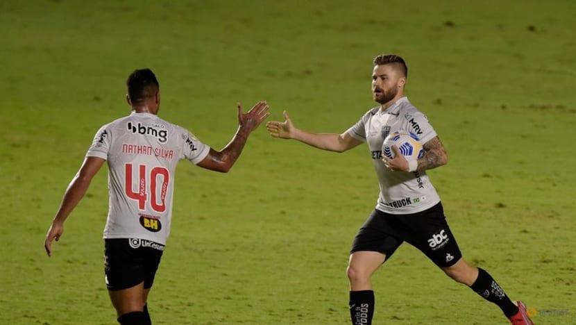 Football: Late goal preserves Atletico's unbeaten run in Brazil