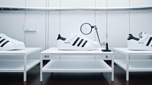 PRADA再联手adidas Originals 奢华版Superstar添3新色