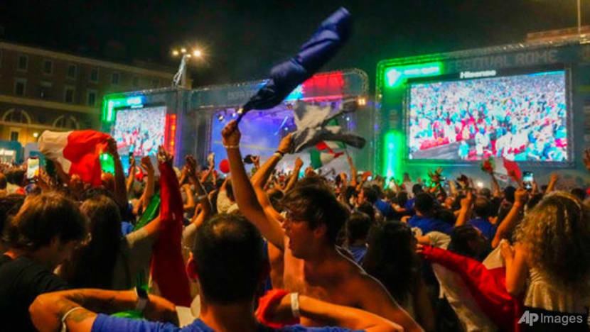 Italy erupts in celebration after Euro 2020 football triumph