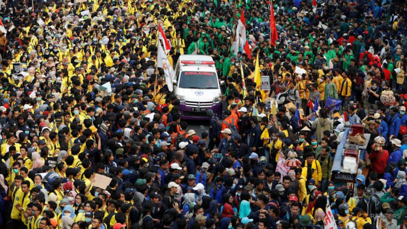 Indonesia's anti-graft Bill ushered in after deadly protests