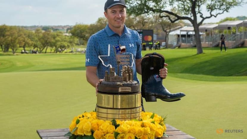 'A lot of tough days': Spieth ends long journey back to the winner's circle