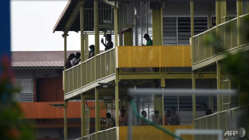 Migrant worker who tested positive for COVID-19 completed vaccination