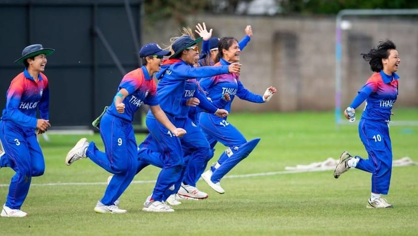 'Extremely proud': Thailand's women defy all odds to qualify for cricket world cup