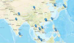 Tracking COVID-19 cases worldwide: A map