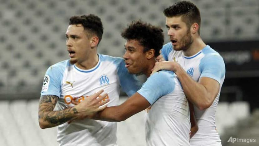 Football: Marseille earn first home win in three months at empty Velodrome