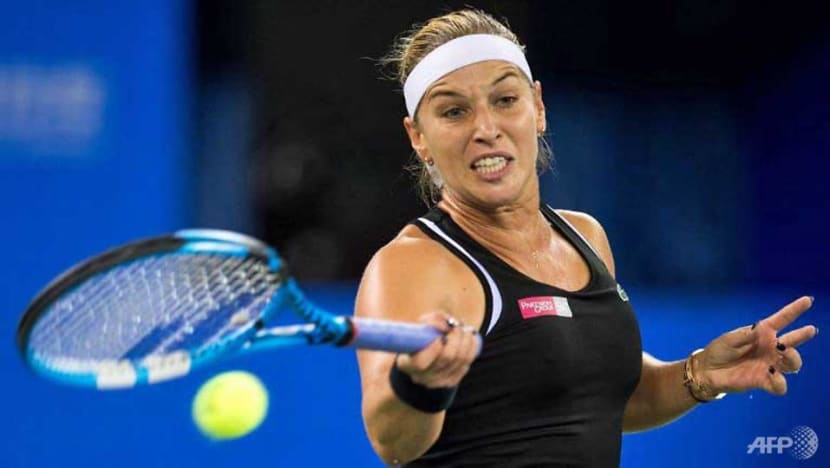 Tennis: Struggling Halep knocked out of Wuhan Open