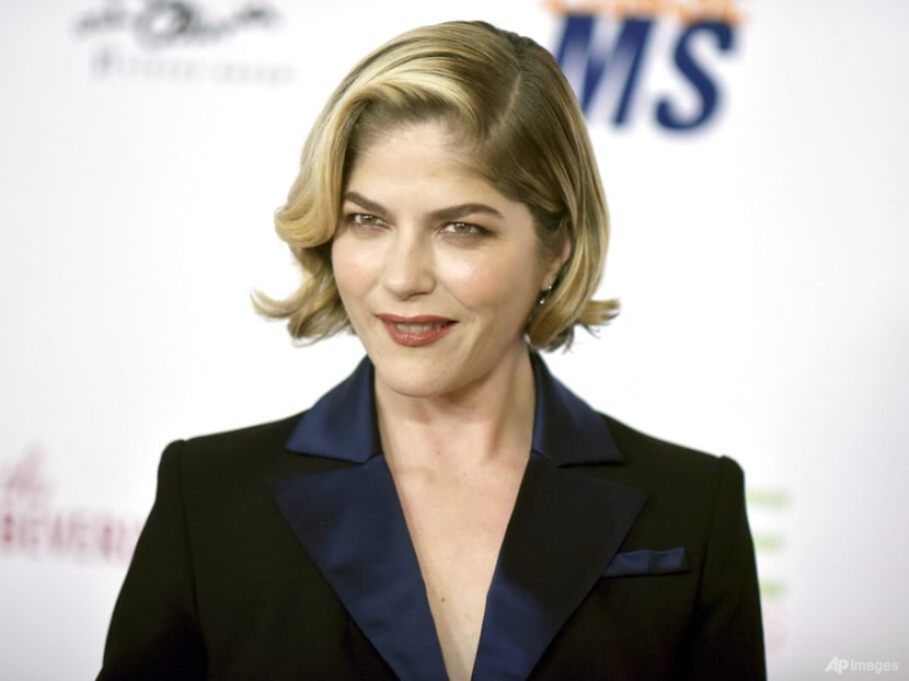 Actress Selma Blair says she's in remission from multiple sclerosis