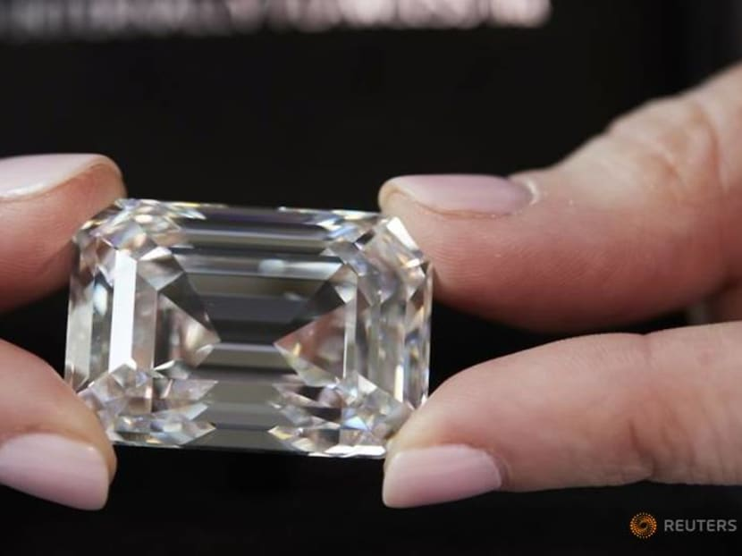 A 101 carat diamond – the largest ever cut in Russia – to be auctioned off