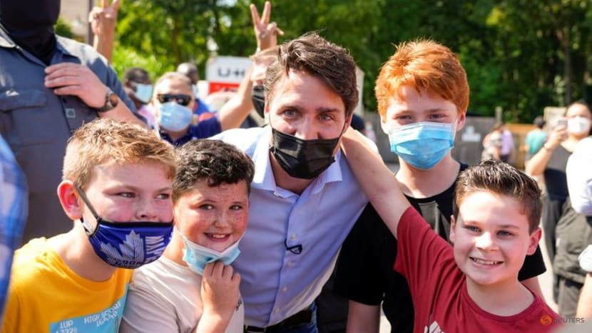 Canada's Trudeau, rival look to fire up supporters ahead of tight vote
