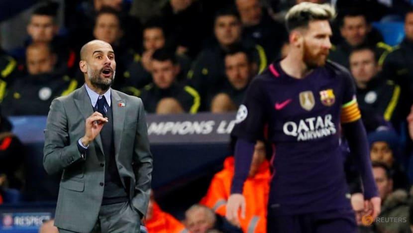 Man City boss Guardiola hopes Messi ends career at Barcelona