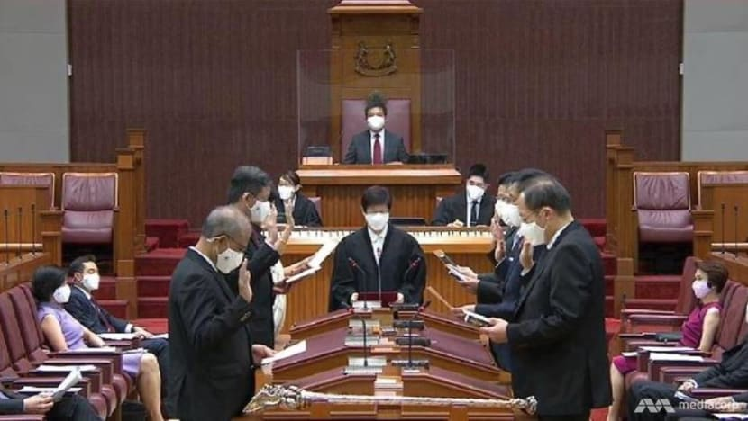 Speaker, MPs sworn in as Parliament reopens; Tan Chuan-Jin warns against 'polarisation and division'