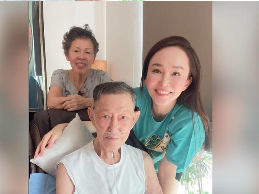 'He was always a fighter': Fann Wong's father dies at 80 after an illness