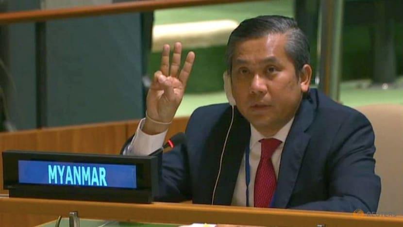 Myanmar's UN ambassador vows to continue fighting after junta fires him