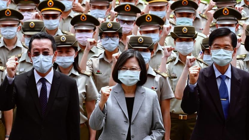 Amid heightened tensions, Taiwan tells China not to underestimate its resolve