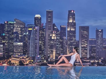 A refuge amid the clouds, a luxurious sanctuary in the very heart of the city